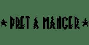 Pret a Manger logo black