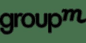 Group m logo black