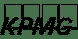 Kpmg logo black