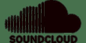 Soundcloud logo black